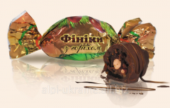 Date candies with nut of Alpi