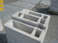 Blocks ventilating (Kiev), reinforced concrete