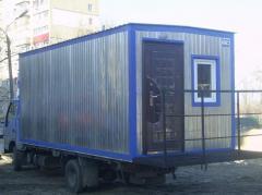 Бытовки для строителей 10м2
