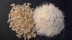 Rice flour from the producer