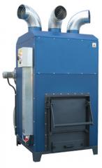Твердотопливные генераторы горячего воздуха