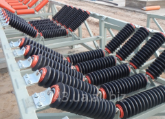 Vibroinsulator of a conveyor roller