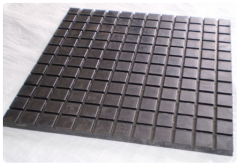 Coverings rubber for industrial floors. Plate