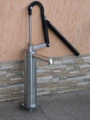 The manual pump for water, a manual column for a