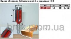 Фреза 4111-4z D16 H30 4х-перьевая обкаточная