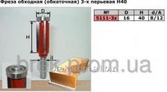 Фреза 5111-3z D16 H40 3х-перьевая обкаточная