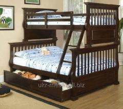 Bunk bed Johnathan (from a natural tree)