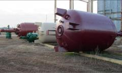 The chemical processing equipment in big