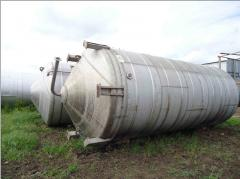 Tanks from stainless steel of any volume