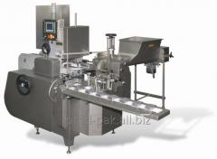 Automatic machines of packaging and packing of oil