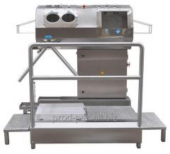 Compact Hygienic Station With the Sink 10.4013.50