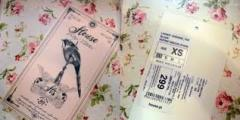 Изготовление бирок для одежды,  подушек, ...