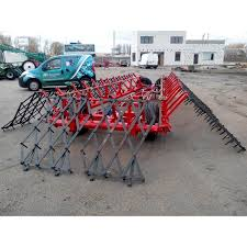 Hitch for zubovy harrows (without harrows / with