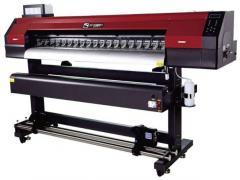 Эко-сольвентный широкоформатный принтер WT-1700G на DX7
