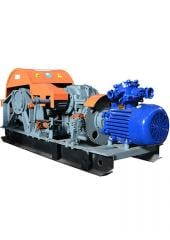 Electric mine winch auxiliary 1LV-09.