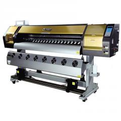 Эко-сольвентный широкоформатный принтер WT-1802A на 2шт DX7