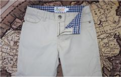 Trousers children's for boys from 100% of