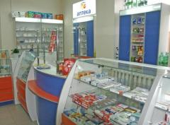 Furniture for a drugstore