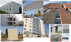 Панели домов, стеновые панели, панели перекрытия,