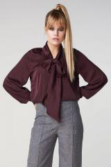The blouse is women's
