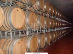 Barrels oak for wines, a barrel for wine