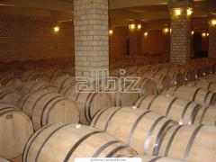 Barrels for endurance of cognac, oak barrels for