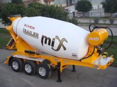 Guven concrete mixer - Mix 12 m3