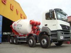 Guven concrete mixer