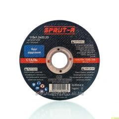 Круг зачистной Sprut 180x6,0x22mm ,Модель  DS-31190