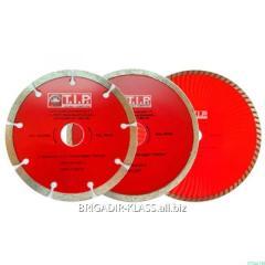 Круг алмазный отрезной TIP 230 плитка ,Модель  КАТ-01-05