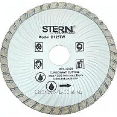 Круг алмазный отрезной Stern 230 турбо волна ,Модель  КАШ-01-05