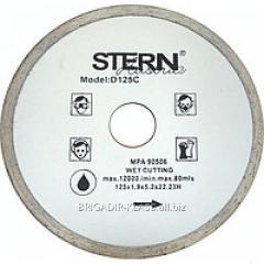 Круг алмазный отрезной Stern 230 плитка ,Модель  КАШ-03-05