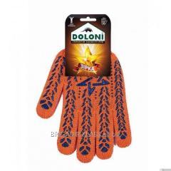 Перчатки звезда оранжевая ДКГ-564 уп. 10 пар. ,Модель  РГ-03-5