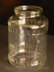 Glass jar of 1,5 l of CKO I-82 (9 pieces in