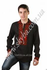 The men's embroidered CK1011 shir