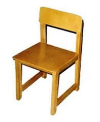 Chair children's wooden. Chairs for