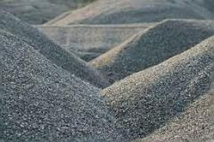Crushed stone cubical fractions 0-2; 2-5; 5-8;
