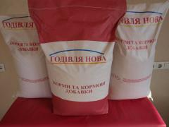 Concentrated compound feeds for KRS