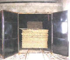 EQUIPMENT FOR DRYING OF FIREWOOD