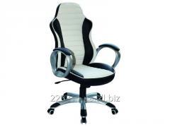 Компьютерное кресло Q-112 Signal бело-черный