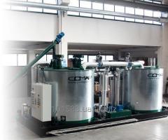 Установки циклического действия для производства ПБВ модифицированного битума