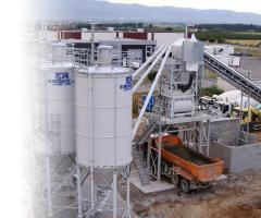 Betonosmesitelny plant for production of Ve/wet