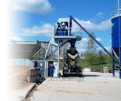 Мобильный бетоносмесительный завод Euromobil4 FAST 30