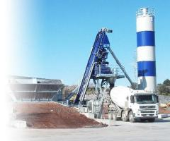 Мобильный бетоносмесительный завод Euromobil4 Fast 45