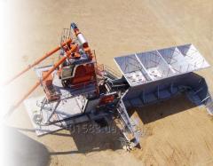 Mobil betonkeverő üzem Euromobil4 gyors 60