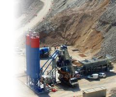 Mobil betonkeverő üzem Euromobil4 gyors 100
