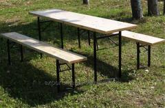 Комплект мебели из натурального дерева ДЕСАНТ