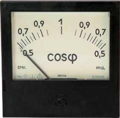Приборы для измерения частоты тока и сдвига фаз