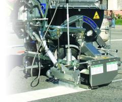Машина для нанесения термопластика