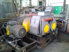 Briquetting roll press for zinc ore. PBV-19 model.